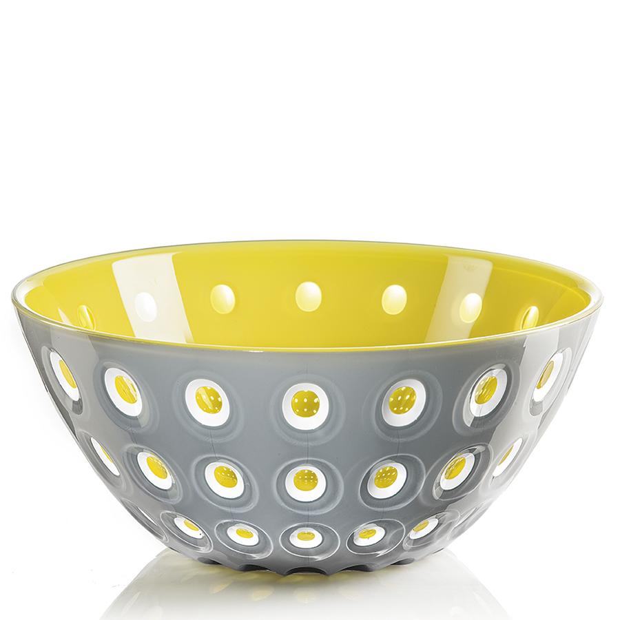 Купить Салатница Guzzini Le Murrine 25 см серая/желтая 279425141
