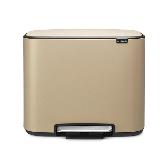 Мусорный бак Brabantia Touch Bin Bo (3 x 11 л) 121500