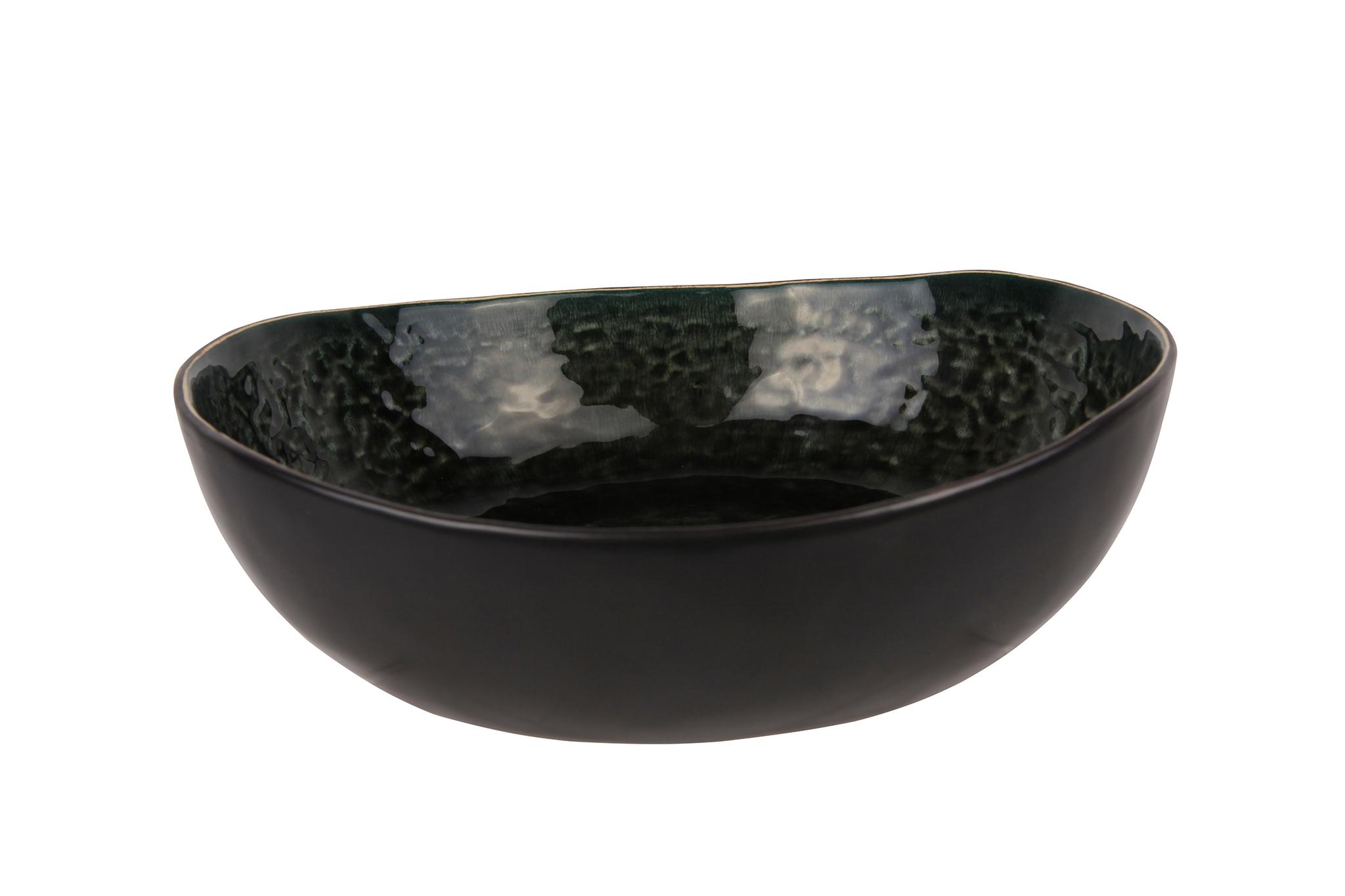 Купить Миска для салата 21х20х6, 5 см COSY&TRENDY Laguna verde 1762267