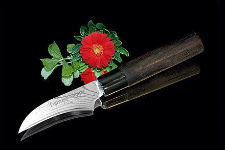 Нож кухонный стальной овощной (70мм) Tojiro Shippu FD-590