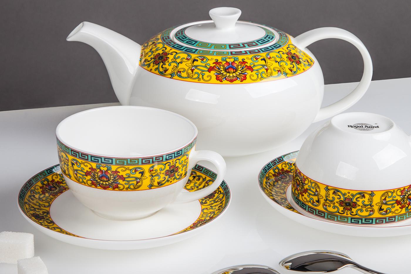 Чайный сервиз Royal Aurel Восторг арт.145, 13 предметов