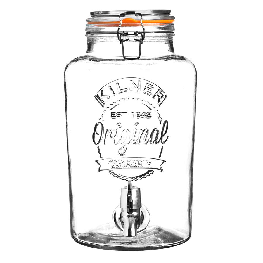 Купить Диспенсер для напитков Clip Top 5 л Kilner K_0025.405V