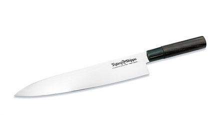 Нож кухонный стальной Шеф (270мм) Tojiro Shippu FD-596