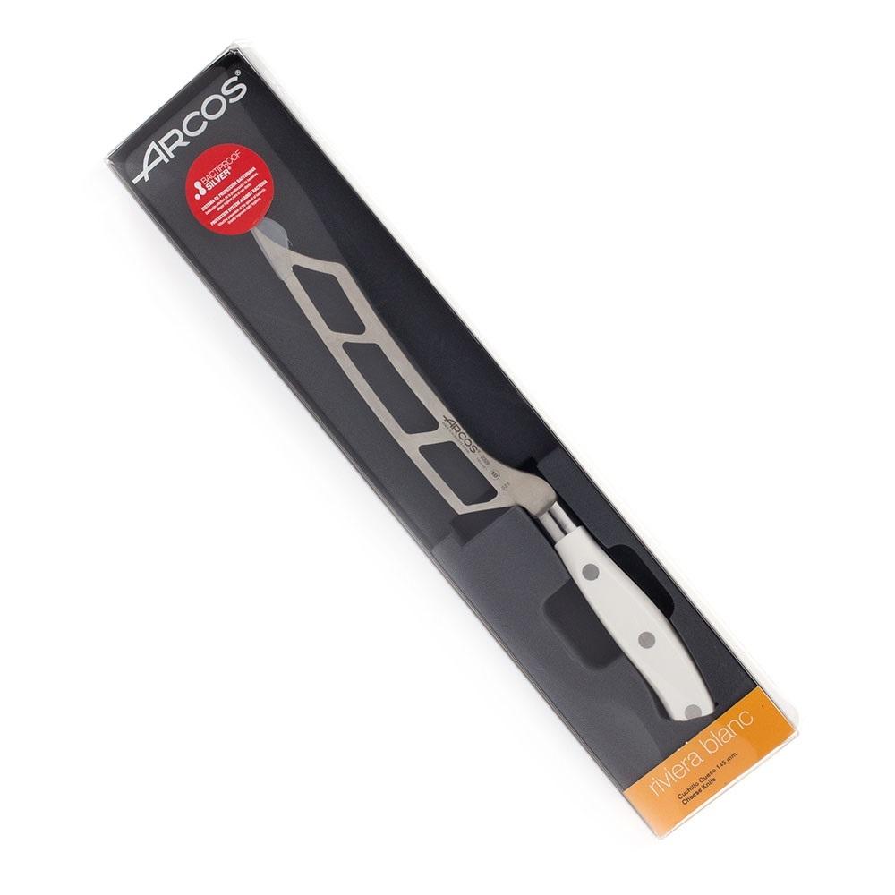 Нож кухонный стальной для сыра 14,5 см ARCOS Riviera Blanca арт. 232824W