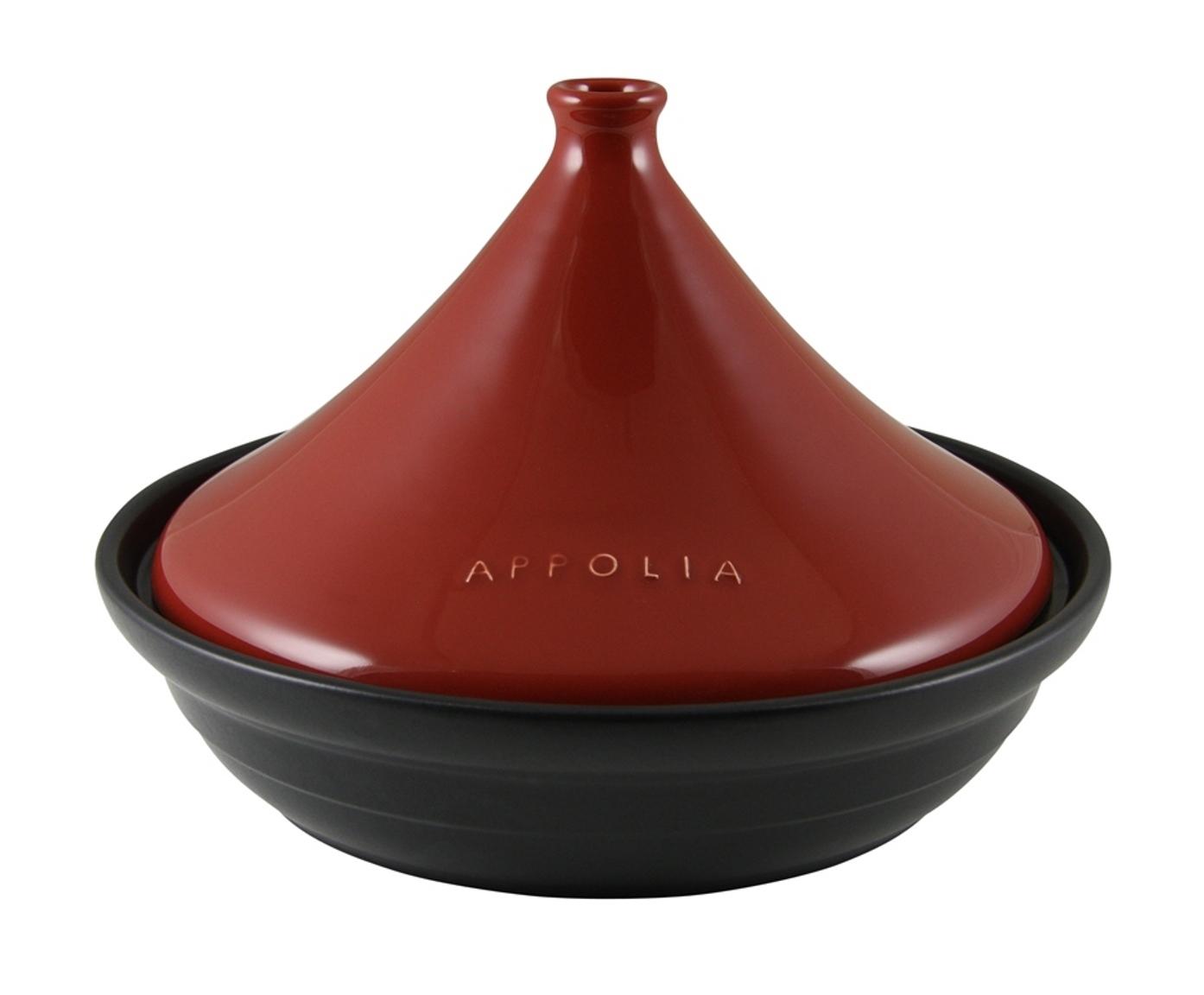 Тажин круглый 39х26 (3л) Appolia Terry&Flamme RED LID 530030005