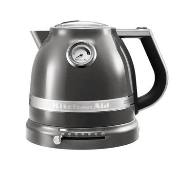 Чайник электрический 1,5л KitchenAid Artisan (Серебряный медальон) 5KEK1522EMS