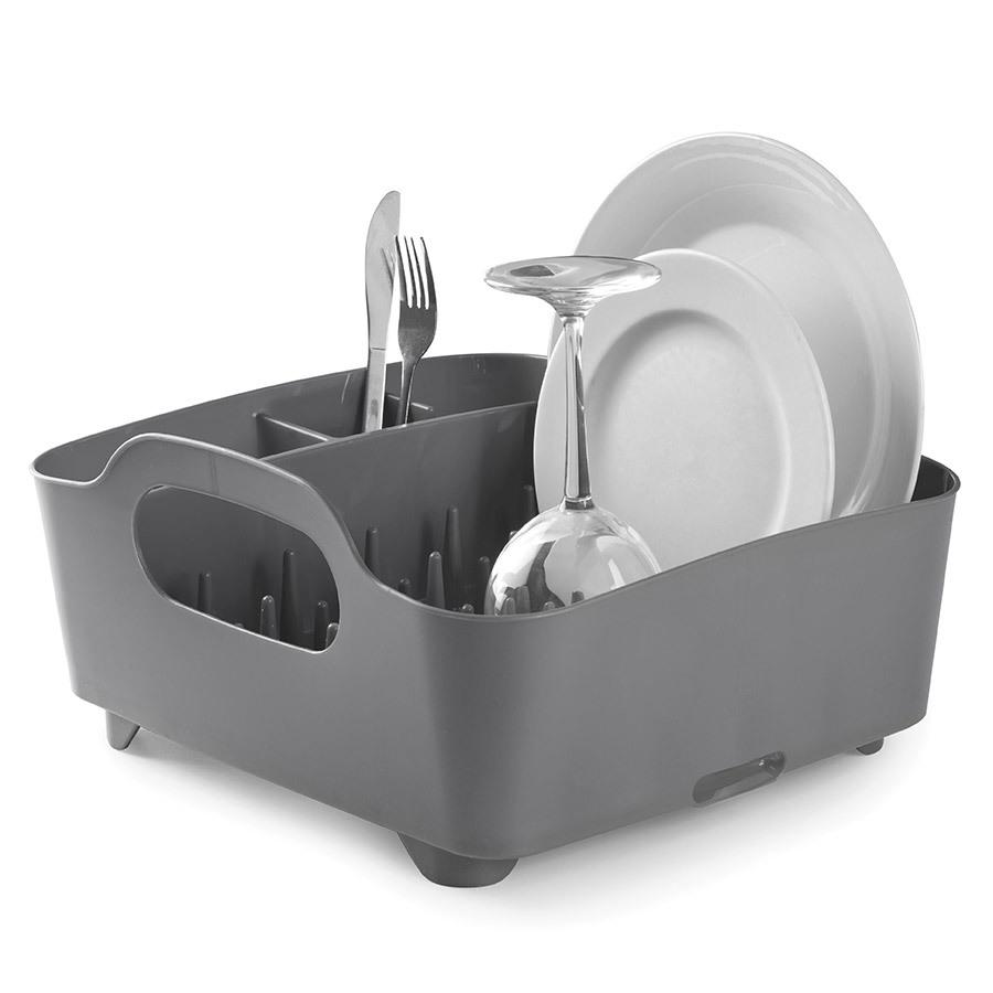 Купить Сушилка для посуды Tub тёмно-серая Umbra 330590-149