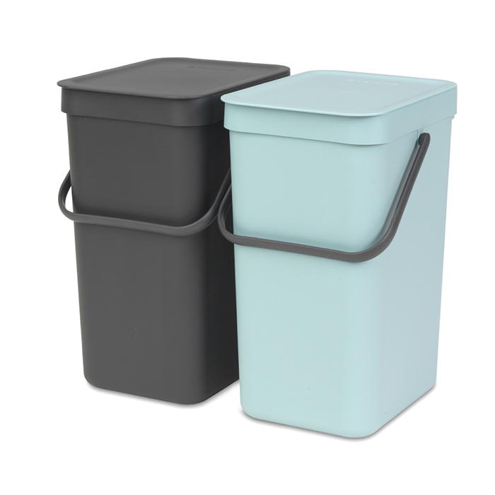 Набор ведер для мусора SORT&GO 12л (2шт) Brabantia 109980