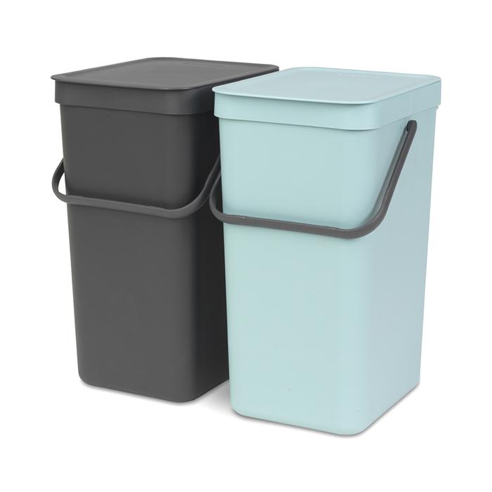 Купить Набор ведер для мусора SORT&GO 16л (2шт) Brabantia 110023