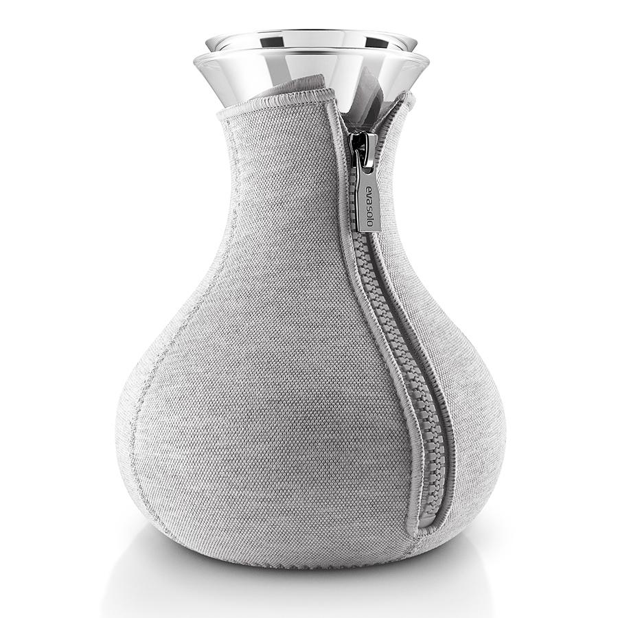 Купить Чайник заварочный Tea maker в неопреновом текстурном чехле 1 л светло-серый Eva Solo 567488