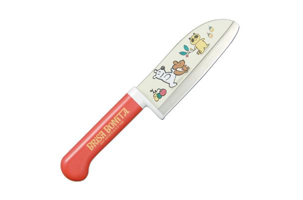 Нож кухонный детский стальной Сантоку Tojiro Brisa Bonita BB-3