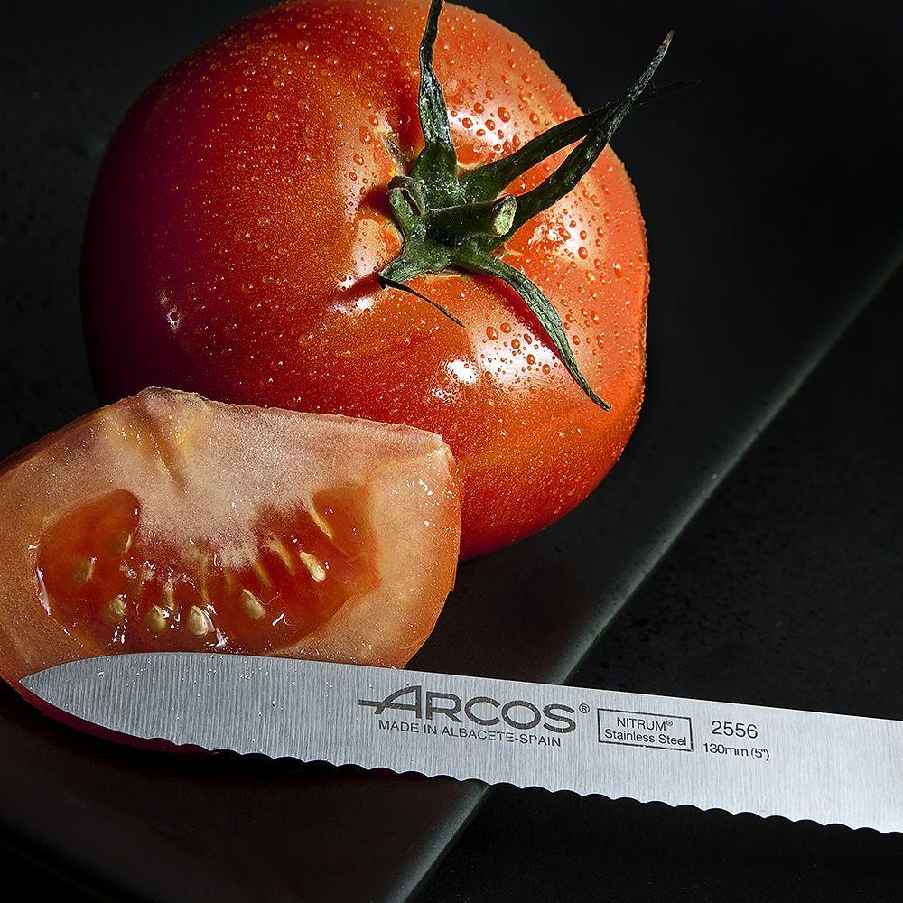 Нож кухонный стальной для томатов 13 см ARCOS Clasica арт. 2556