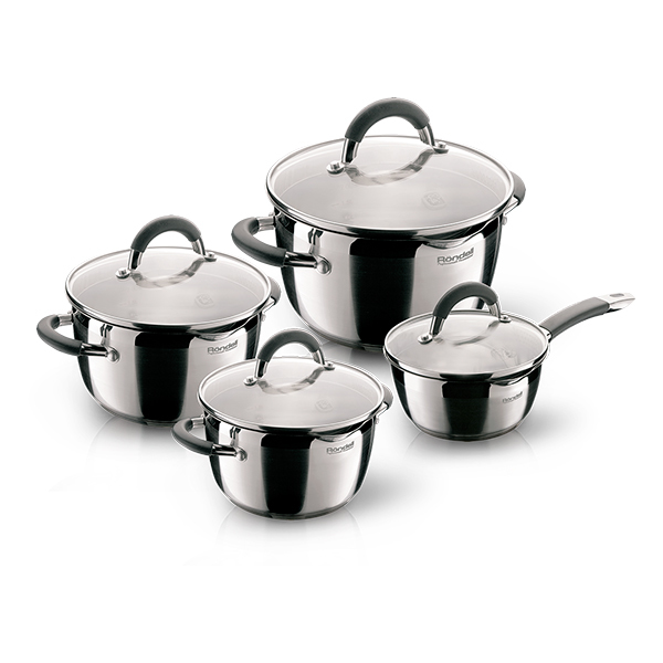 Набор посуды Rondell Flamme 8 предметов RDS-040