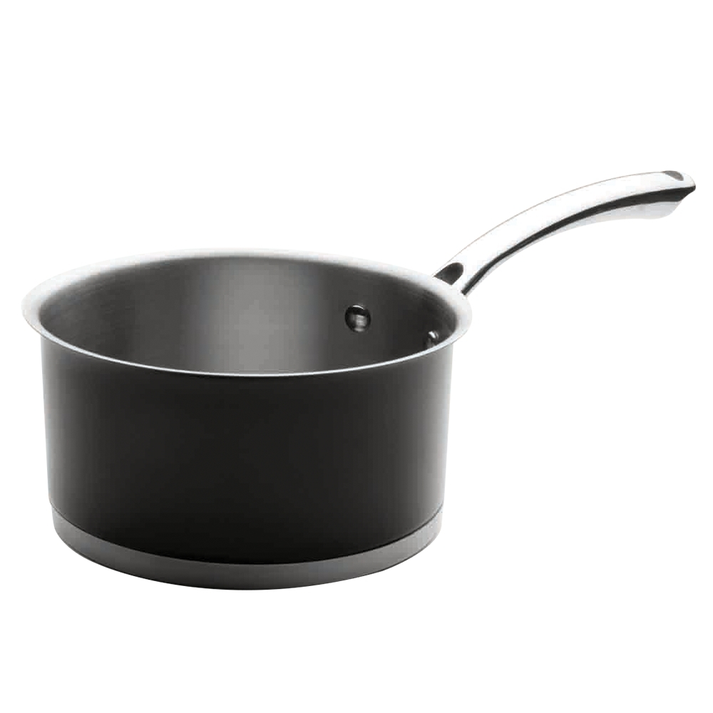 Ковшик 16см (1,5 л) LACOR Cookware Black арт. 44216