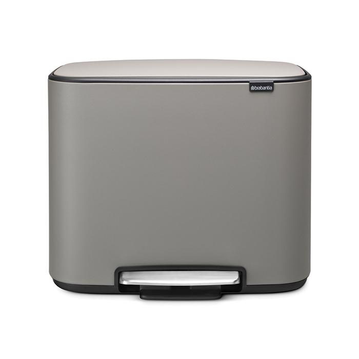 Мусорный бак Brabantia Touch Bin Bo (3 x 11 л) 121524