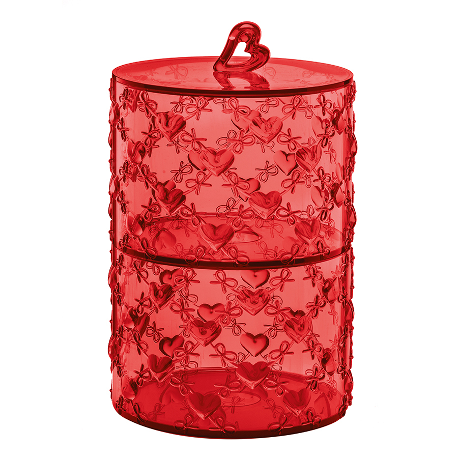 Купить Набор из 2 контейнеров Guzzini Love красный 11520165