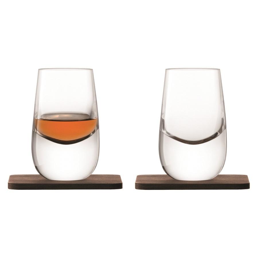 Набор из 2 шотов на подставках Whisky 80 мл LSA International G1213-03-301