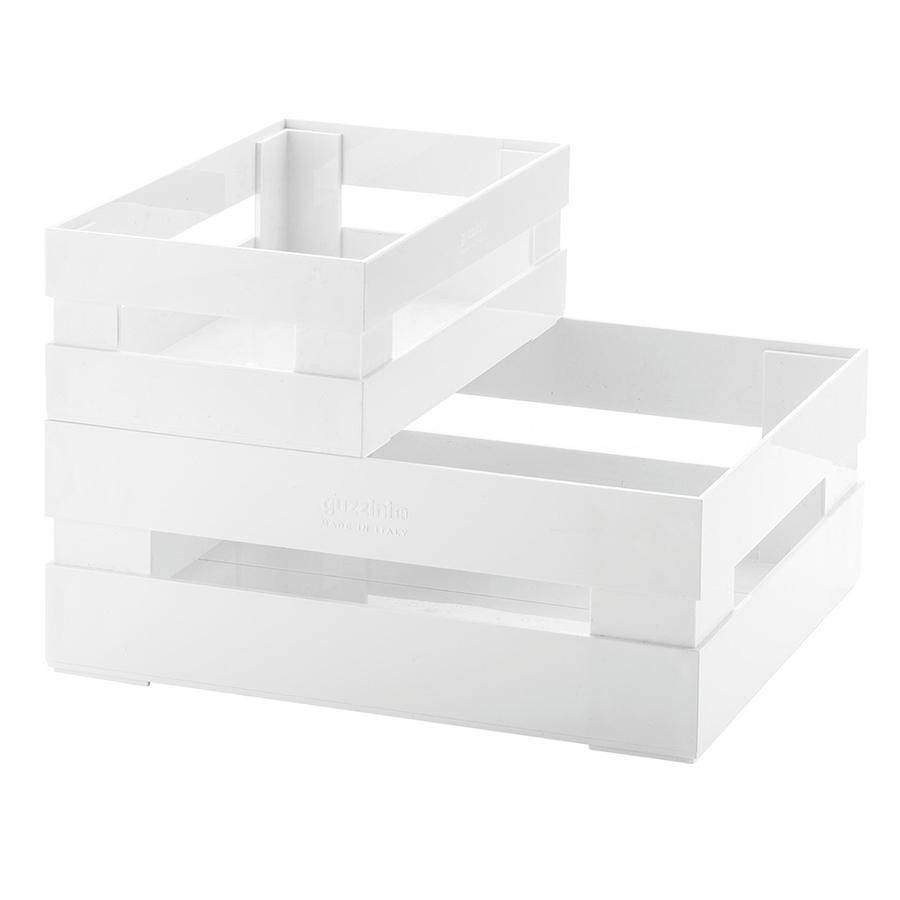 Купить Набор из 2 ящиков Guzzini Tidy & Store белый 16950011