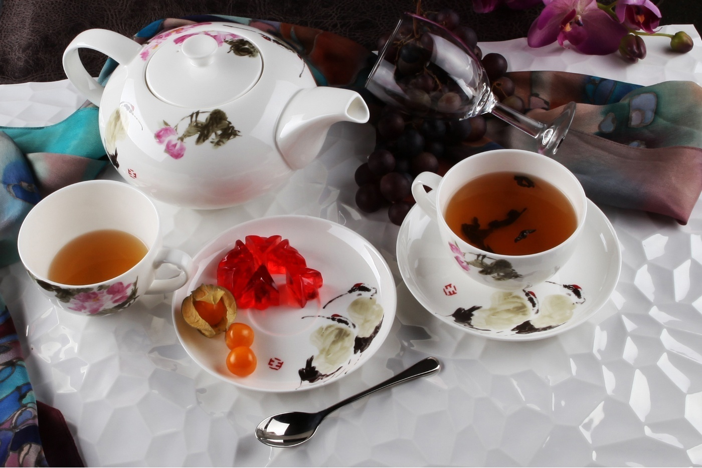 Чайный сервиз Royal Aurel Дикая роза арт.140, 13 предметов