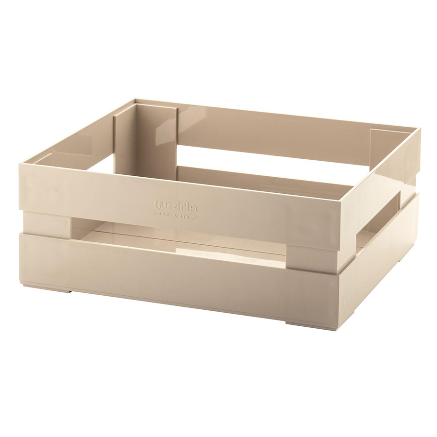 Купить Ящик для хранения Guzzini Tidy & Store L бежевый 16940079