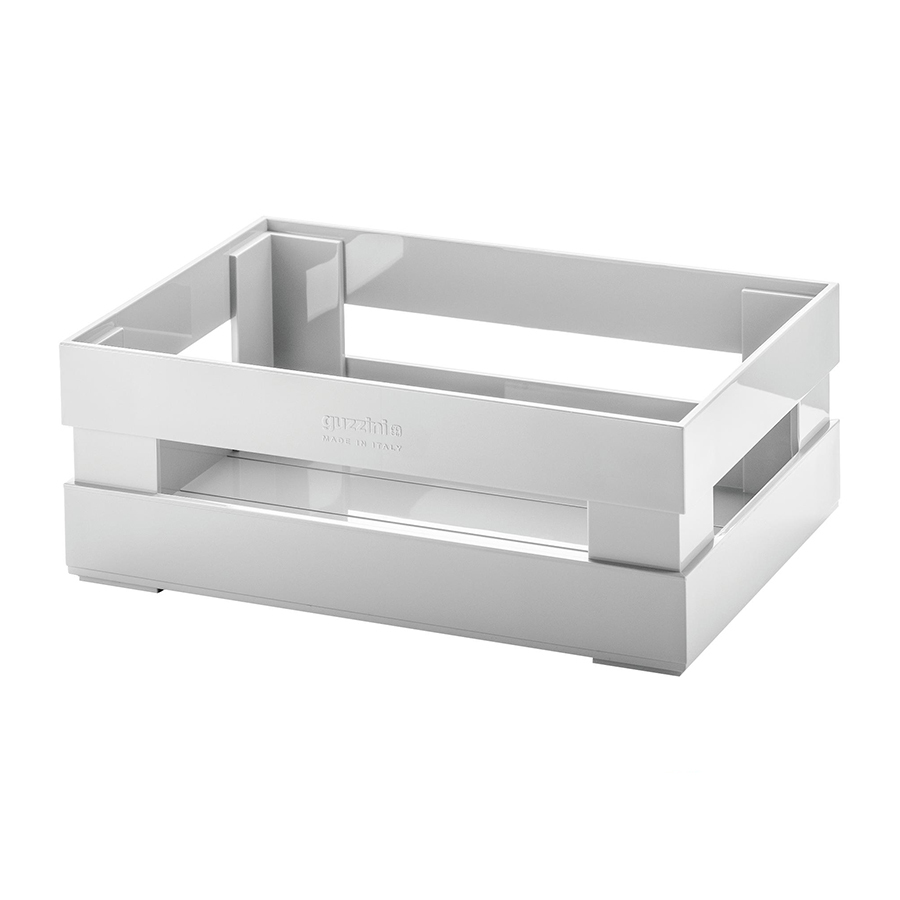 Купить Ящик для хранения Guzzini Tidy & Store S серый 16930033