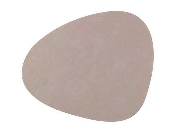 Подстановочная салфетка фигурная 37x44 см LindDNA Nupo light grey 981162
