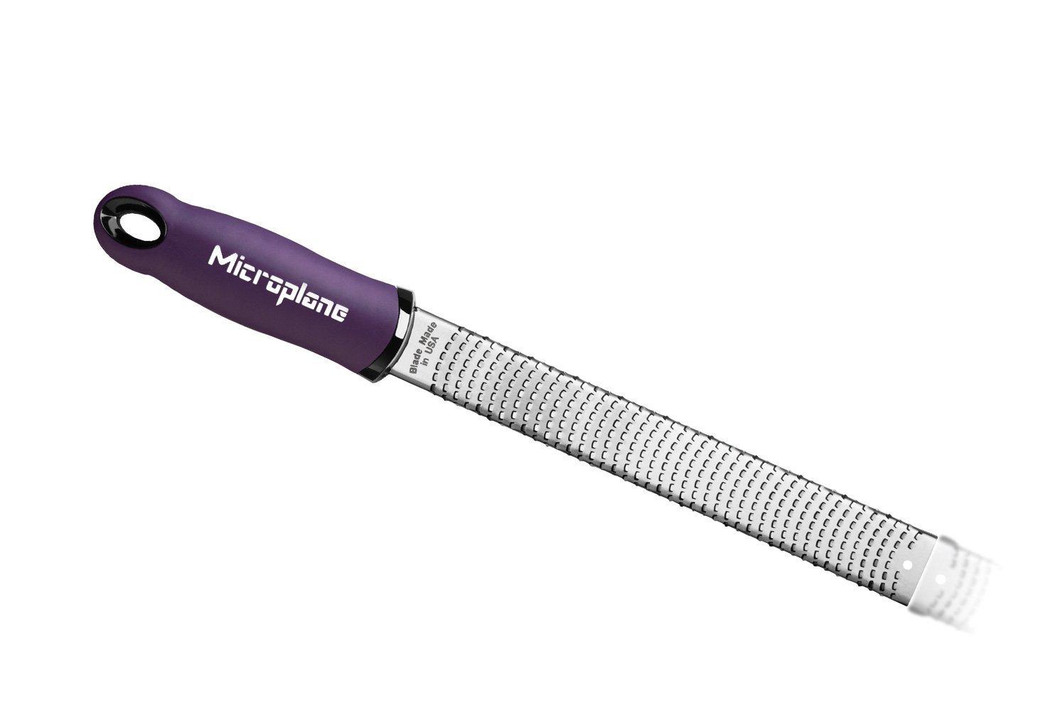 Терка Microplane Premium Classic для сыра и цитрусовых фиолетовая 46520