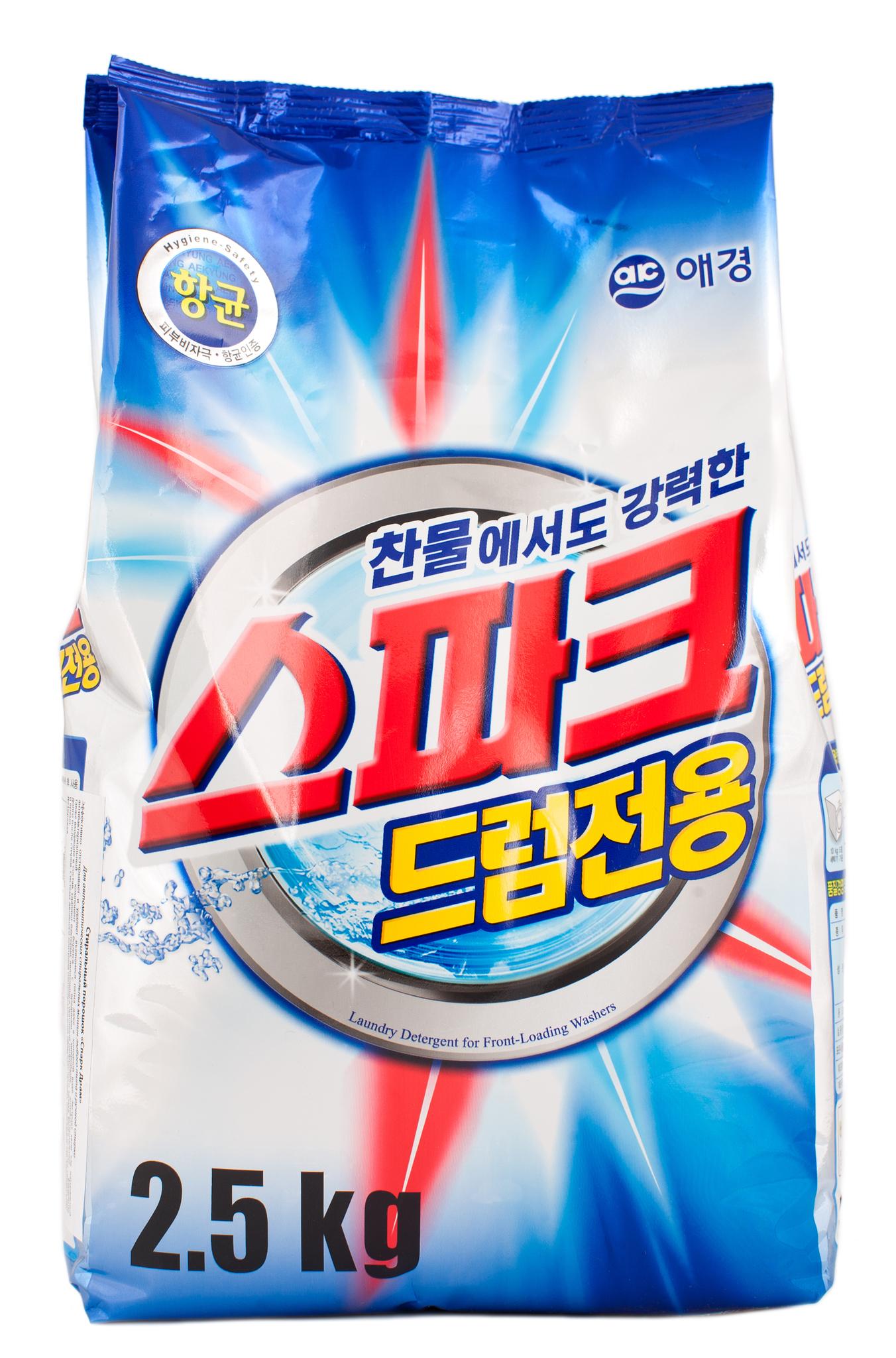 Купить Стиральный порошок Spark DRUM 2, 5кг (мягкая уп.) 867860