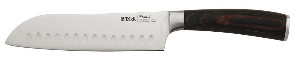 Нож кухонный Сантоку 18см Taller TR-2047
