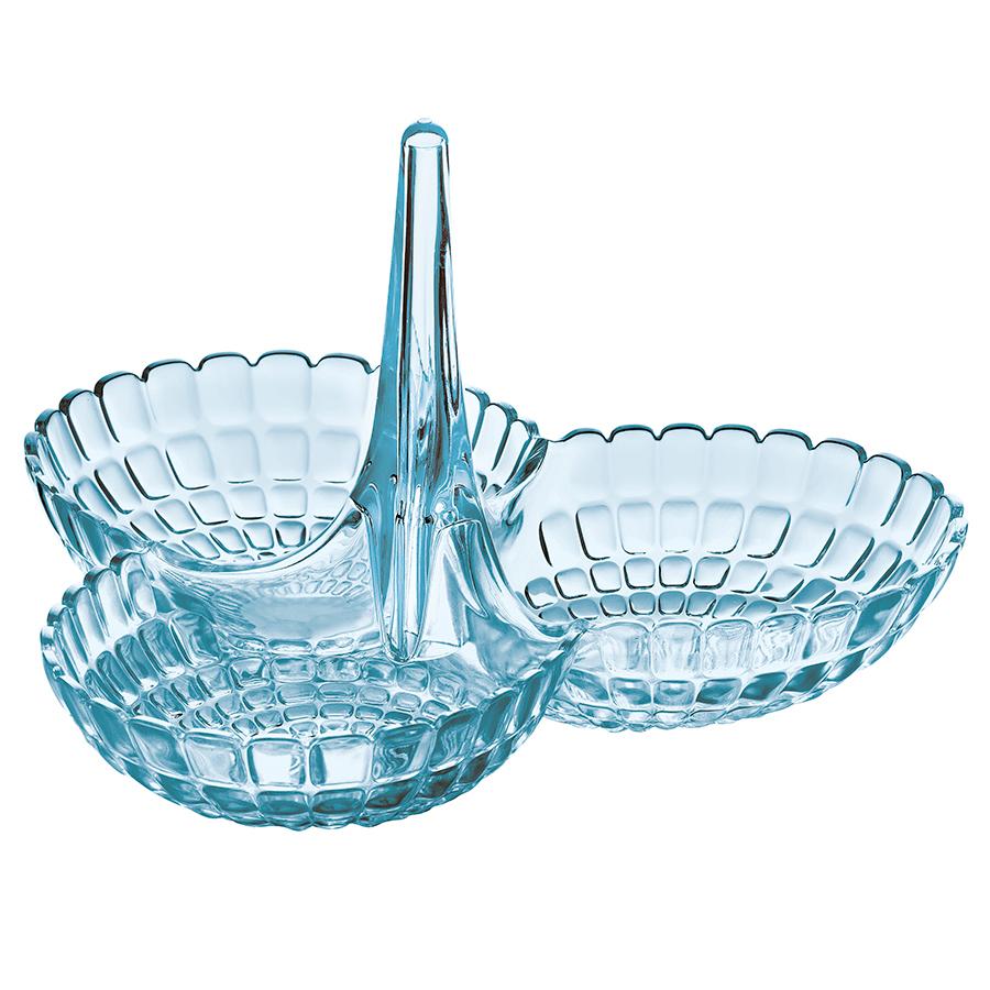 Купить Менажница Guzzini Tiffany голубая 19920081