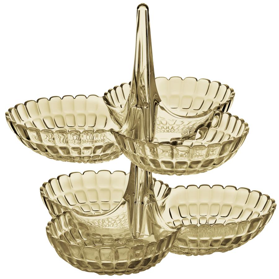 Купить Набор из двух менажниц Guzzini Tiffany песочный 19920139