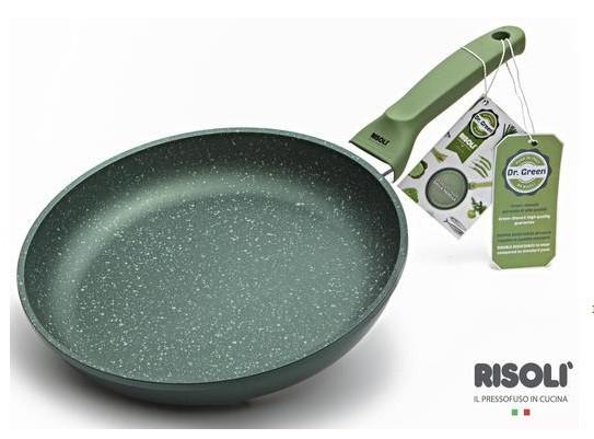 Литая сковорода Risoli Dr Green 28см 00103DR/28GS