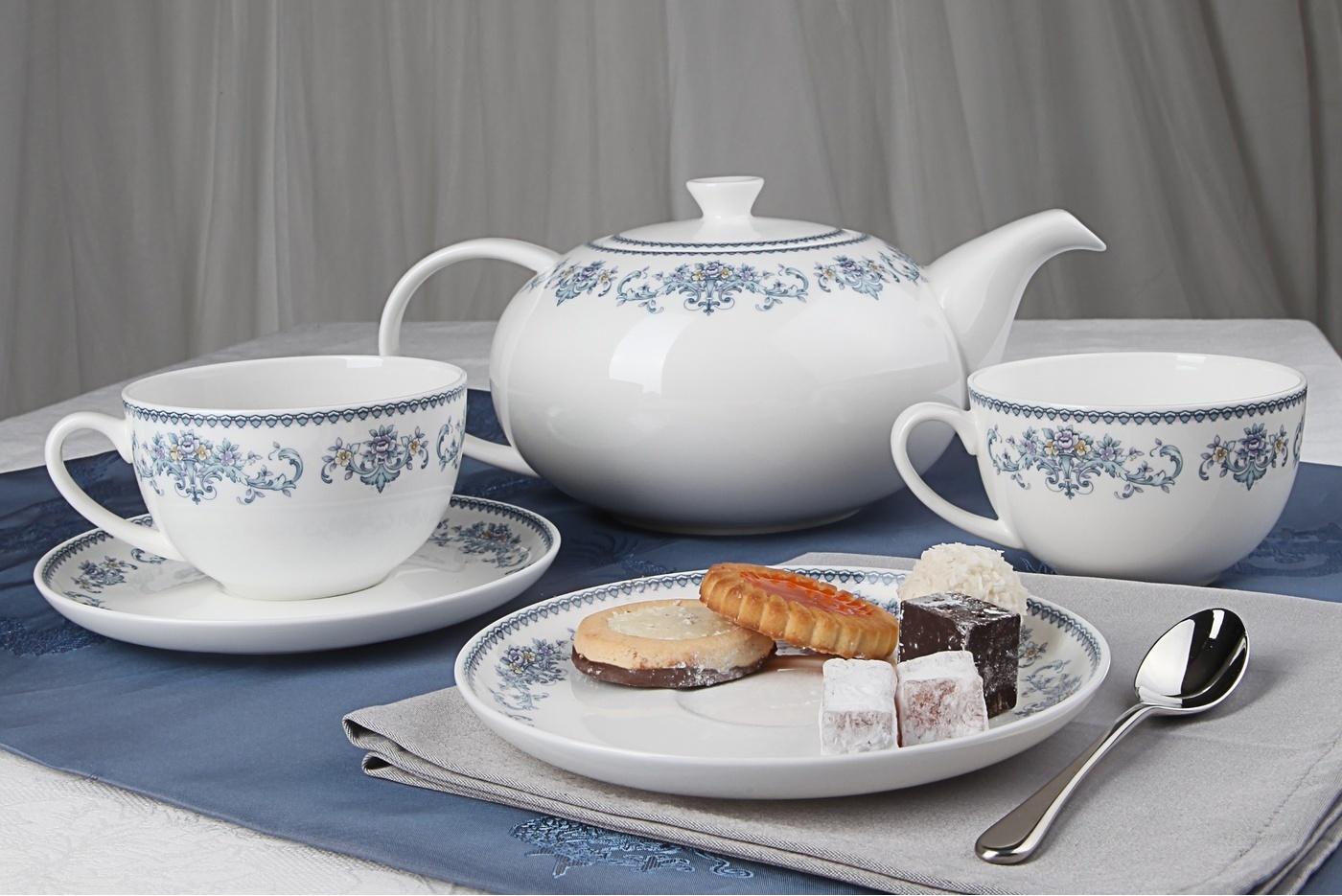 Чайный сервиз Royal Aurel Саксония арт.141, 13 предметов