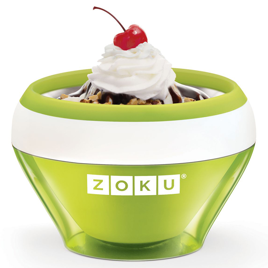 Мороженица Zoku Ice Cream Maker зеленая ZK120-GN