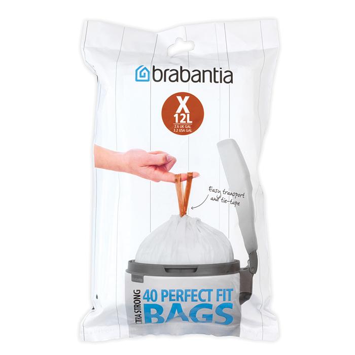 Пакет пластиковый 10/12 л 40 шт Brabantia 116841