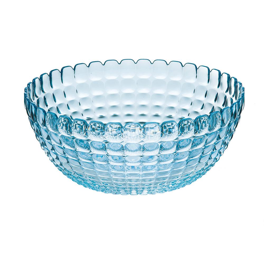Купить Салатница Guzzini Tiffany L голубая 21382581