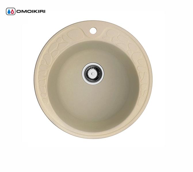 Кухонная мойка из искусственного гранита (Artgranit) OMOIKIRI Tovada 51-MA (4993364)