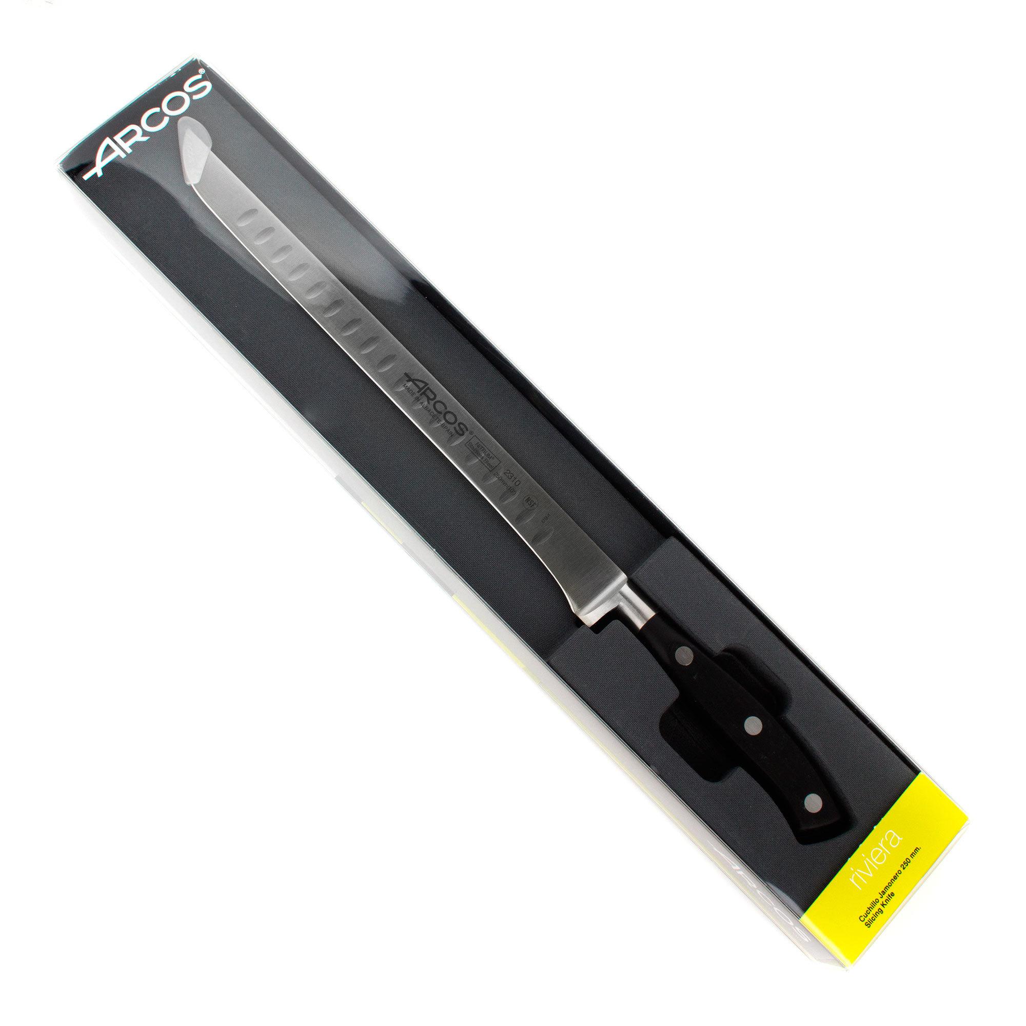 Нож кухонный стальной для резки мяса 25 см ARCOS Riviera арт. 2310