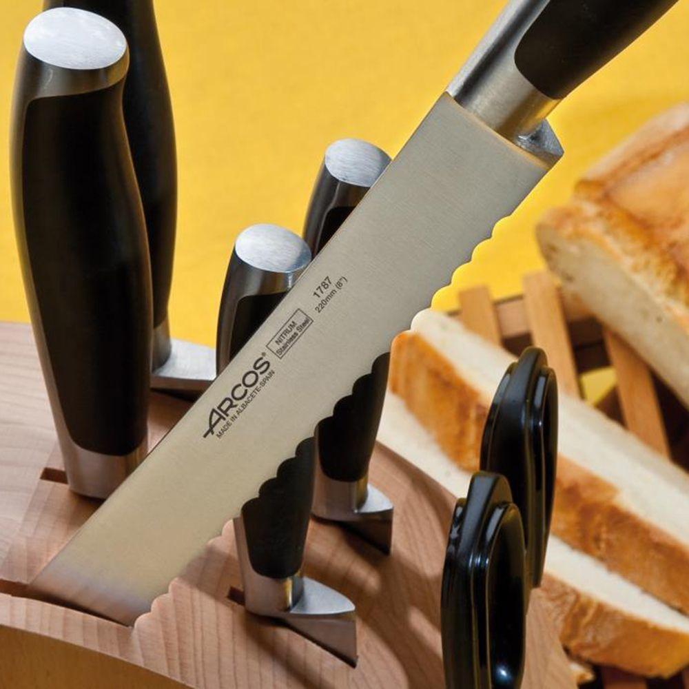Нож кухонный для хлеба 22см ARCOS Kyoto арт. 1787