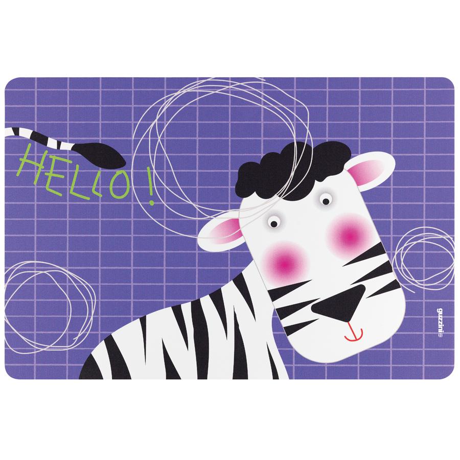 Купить Коврик сервировочный детский Hello зебра Guzzini 22606652Z