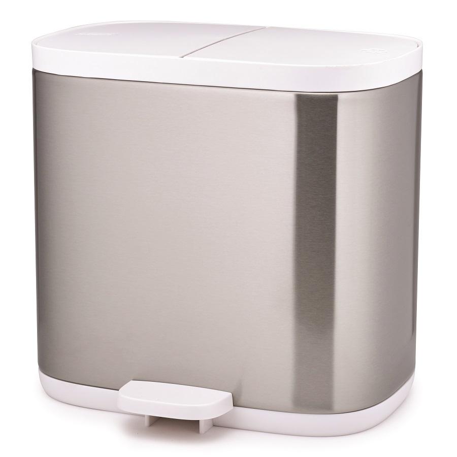 Купить Контейнер для мусора Split™ для ванной комнаты нержавеющая сталь Joseph Joseph 70520