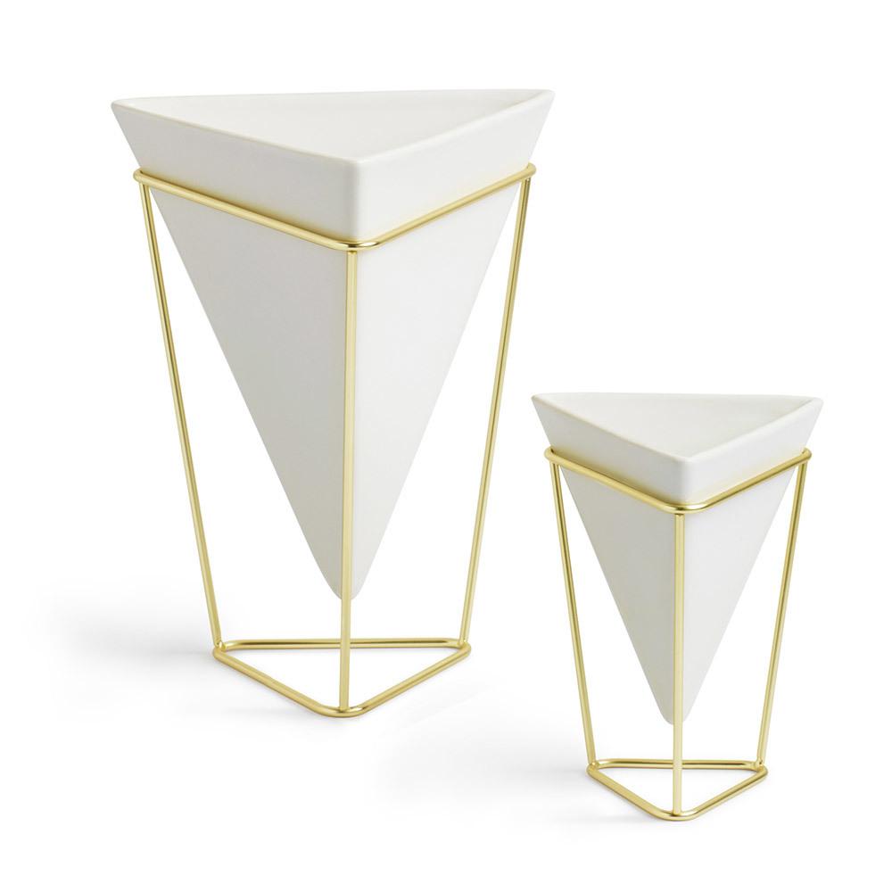 Купить Декор настольный Trigg белый-латунь Umbra 1004372-524