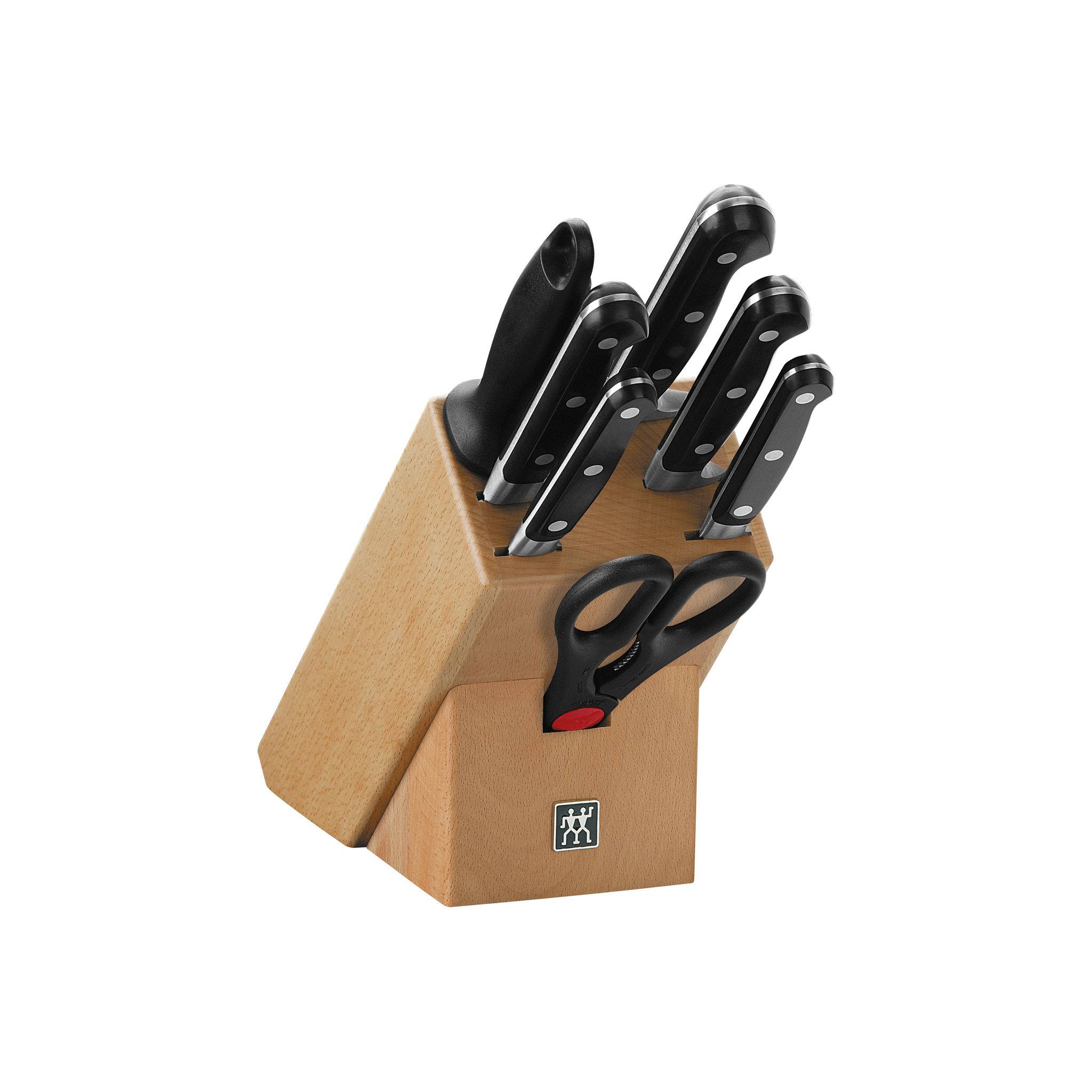 Купить Набор из 5 ножей, мусата и ножниц в подставке Zwilling Professional S 35662-000