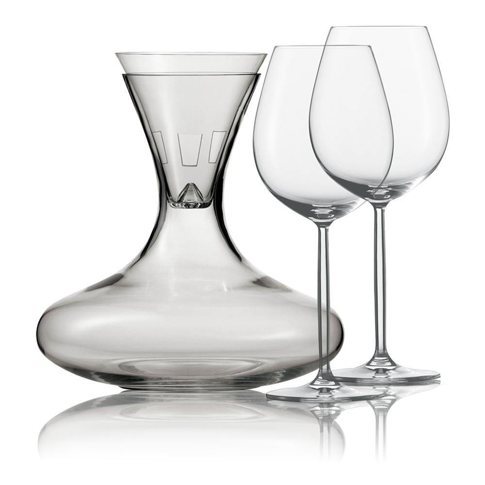 Набор для красного вина (декантер, воронка, 2 бокала красн. 613 мл) Diva SCHOTT ZWIESEL арт. 106 085