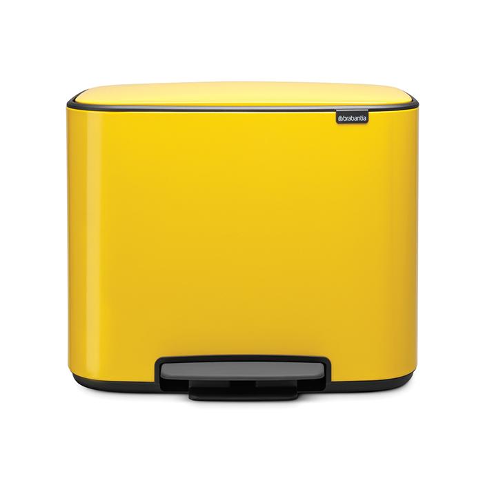 Мусорный бак Brabantia Touch Bin Bo (3 x 11 л) 121043