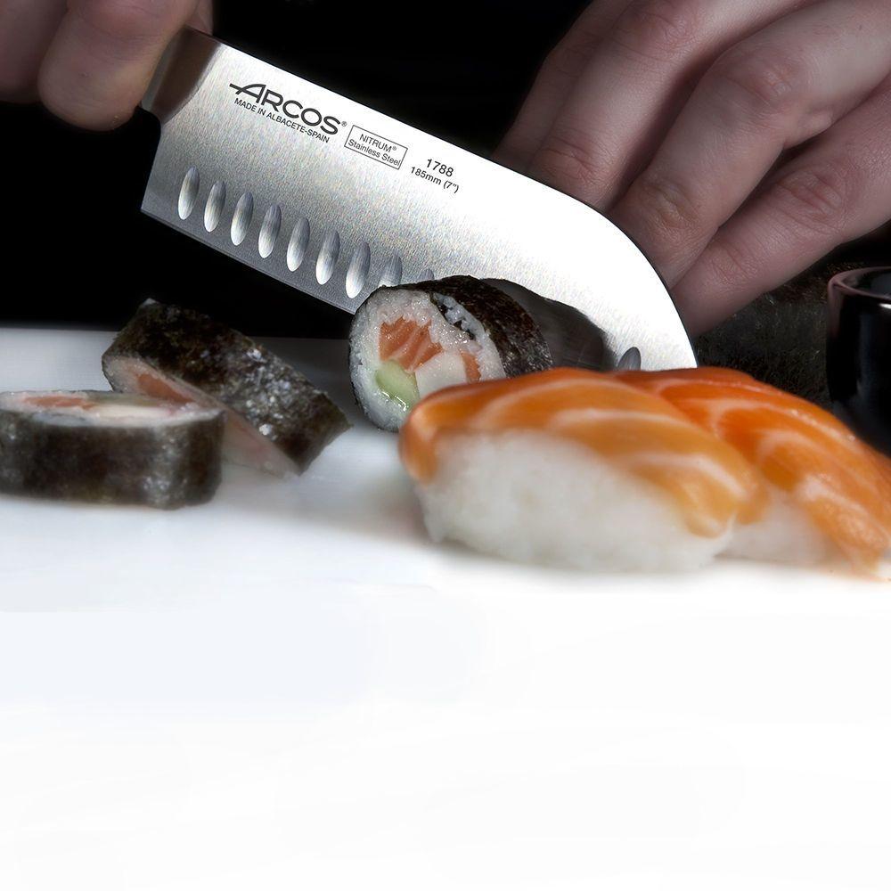 Нож кухонный Сантоку 18,5см ARCOS Kyoto арт. 1788