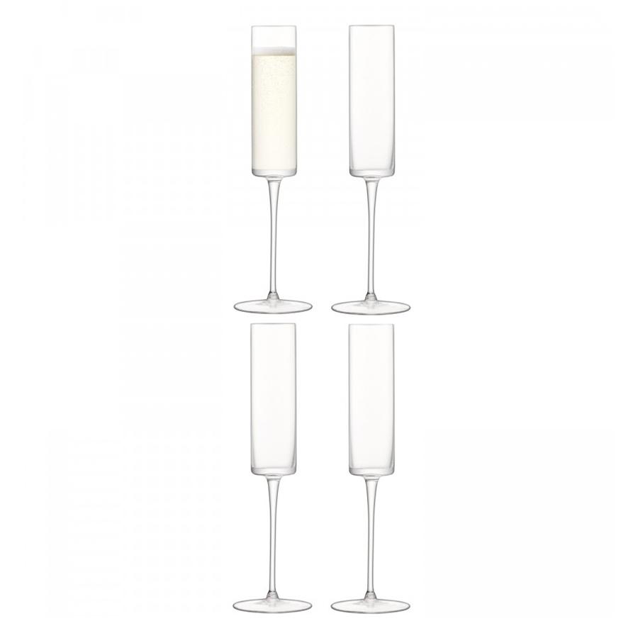 Бокал-флейта для шампанского  Otis 4 шт. LSA G1070-05-301