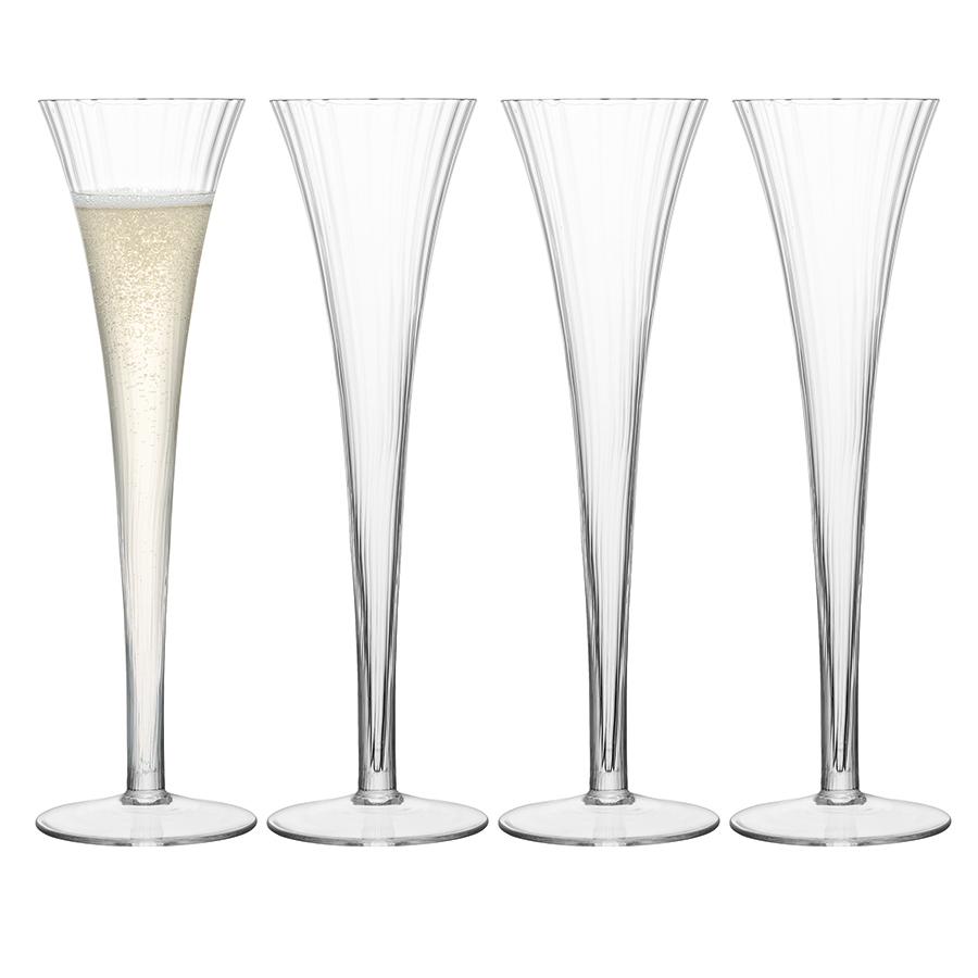 Бокал-флейта для шампанского Aurelia 4 шт. LSA G666-05-776
