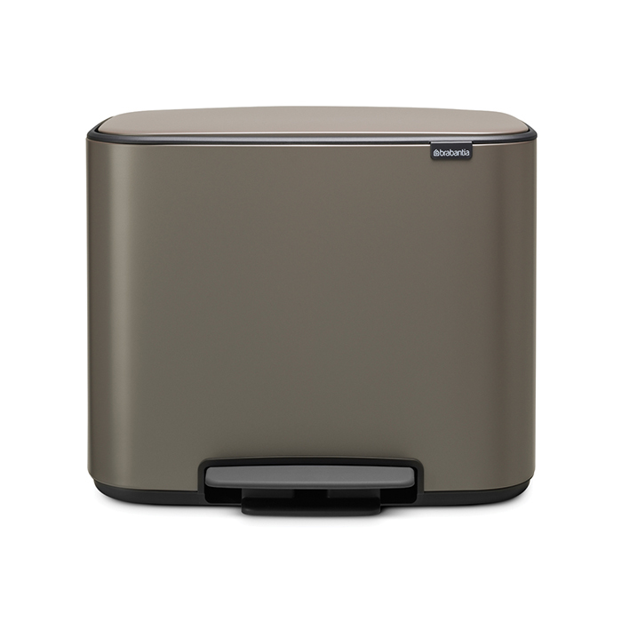 Мусорный бак Brabantia Touch Bin Bo (3 x 11 л) 121067