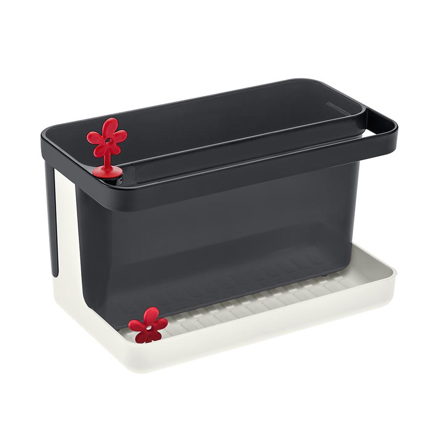 Купить Органайзер для раковины PARK IT, бело-чёрный Koziol 3261100
